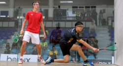 Malaysians cut down to three as Anderson steals the show