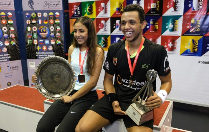 Hania finally nails maiden world junior title as Mostafa goes two up