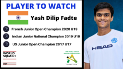 PLAYER TO WATCH | INDIA – Yash Dilip Fadte